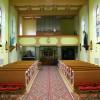 Pohľad do kostola spredu dozadu