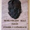 Reliéf dekana Vincenta Malého.
