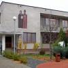 Farský úrad. Stavba fary začala dňa 1.8.1969. Stavebný plán urobili Ing. Búri a Slavomíra Dovičovičová. Stavba fary trvala vyše dvoch rokov. Požehnanie fary sa uskutočnilo dňa 17. októbra 1971 a vykonal ho dočasný ordinár trnavský Dr. Július Gábriš.